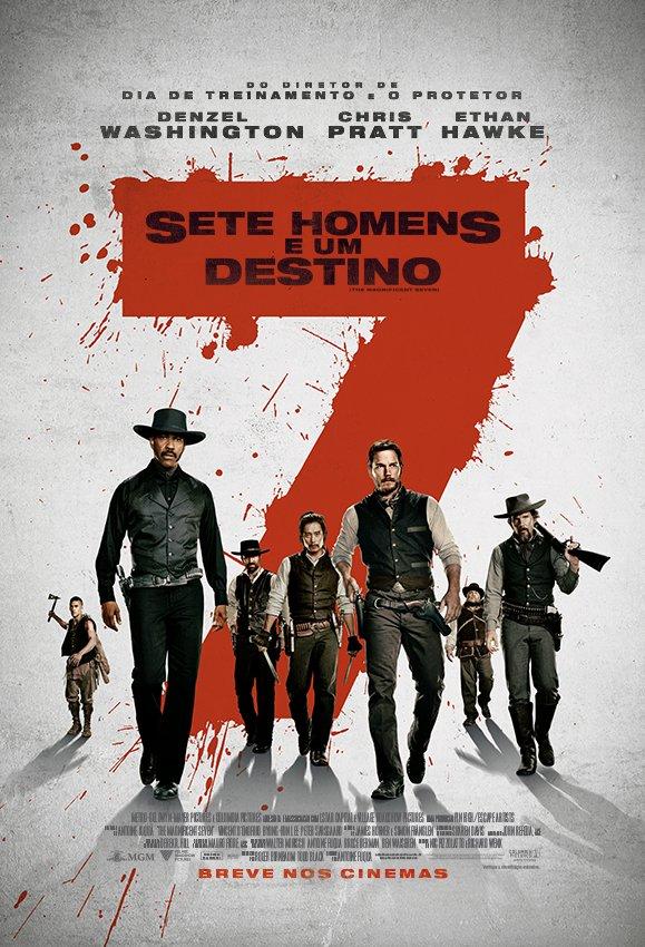 7_cartaz-1 Crítica: Sete Homens e um Destino (The Magnificent Seven)