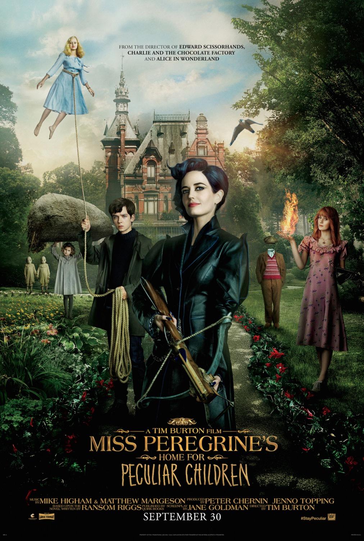Olar_cartaz Crítica: O Lar das Crianças Peculiares (Miss Peregrine's Home for Peculiar Children)