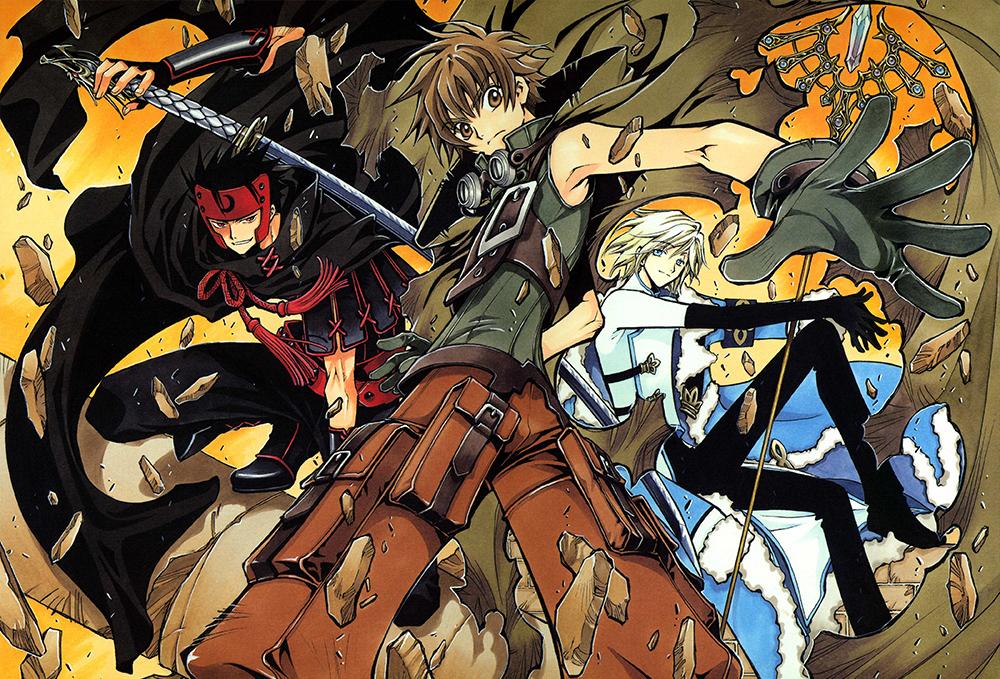 tsubasa_artbook_clamp1-1 Tsubasa RESERVoir CHRoNiCLE: o maior crossover dos mangás