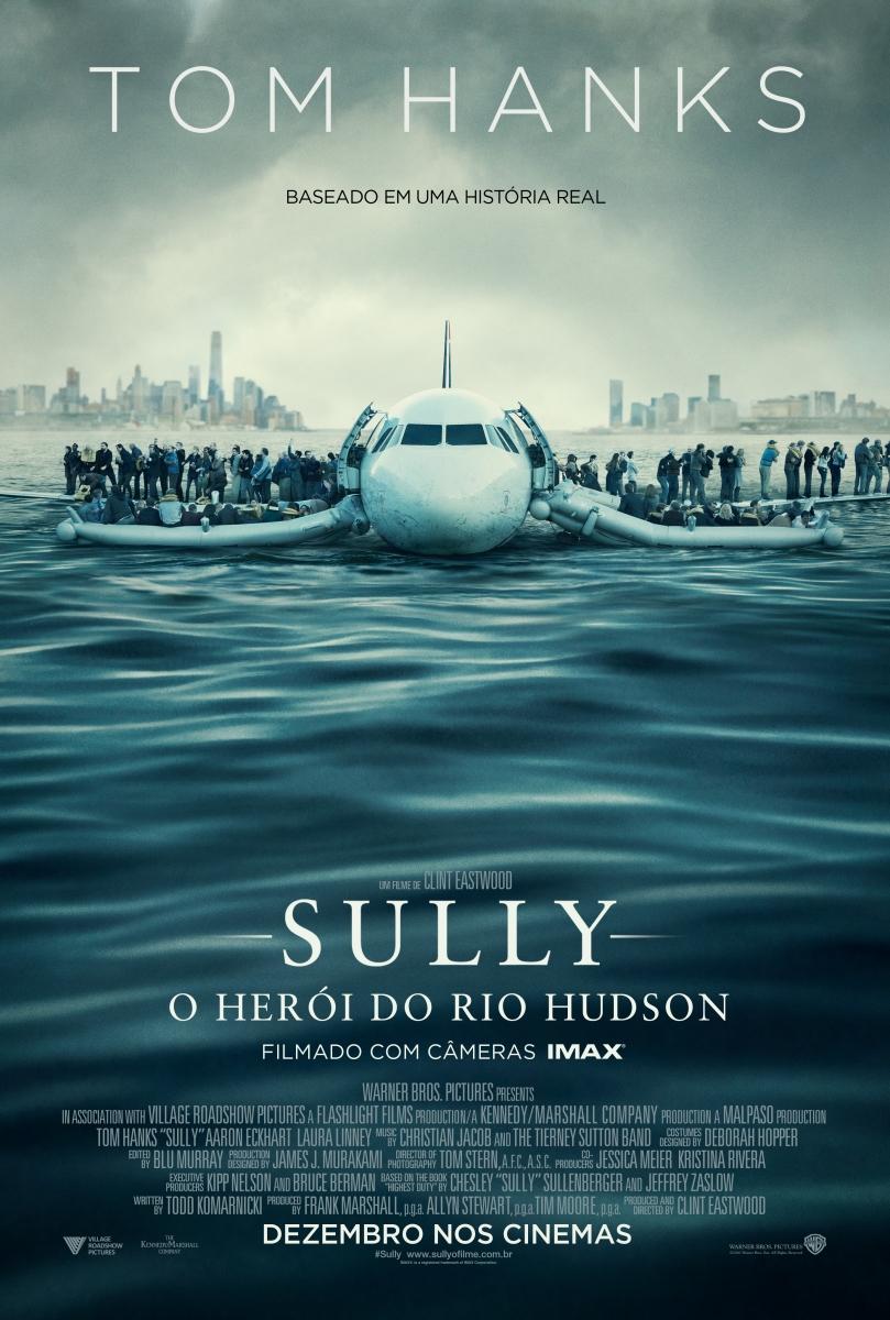 Sully_cartaz Crítica: Sully: O Herói do Rio Hudson (Sully)