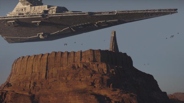 rogue-meio Crítica: Rogue One - Uma História Star Wars