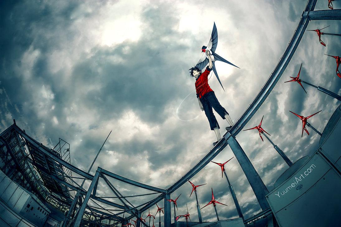 when_the_wind_rises_by_yuumei-dakr9tt A arte de Yuumei e o ambientalismo