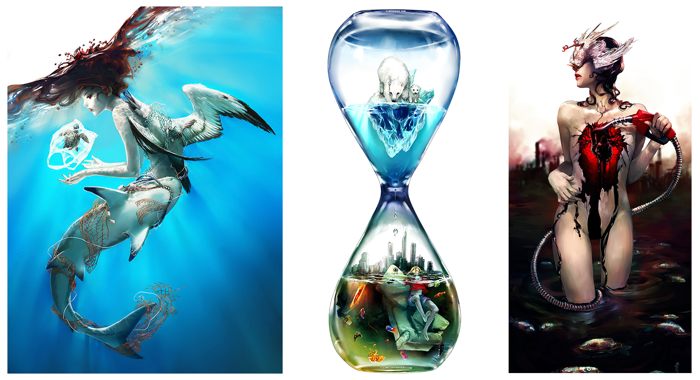 yuumei A arte de Yuumei e o ambientalismo