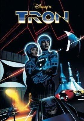 TRON-POSTER Análise: Tron - Uma Odisseia Eletrônica (1982)