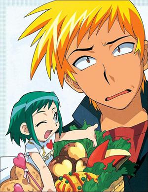 midori1 Anime: Midori no Hibi
