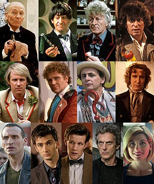 300px-Versions_of_the_Doctor Séries: Doctor Who