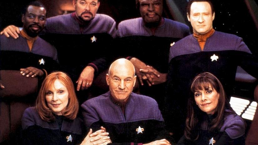 tngcrew Star Trek - Uma jornada além das estrelas - Parte  4