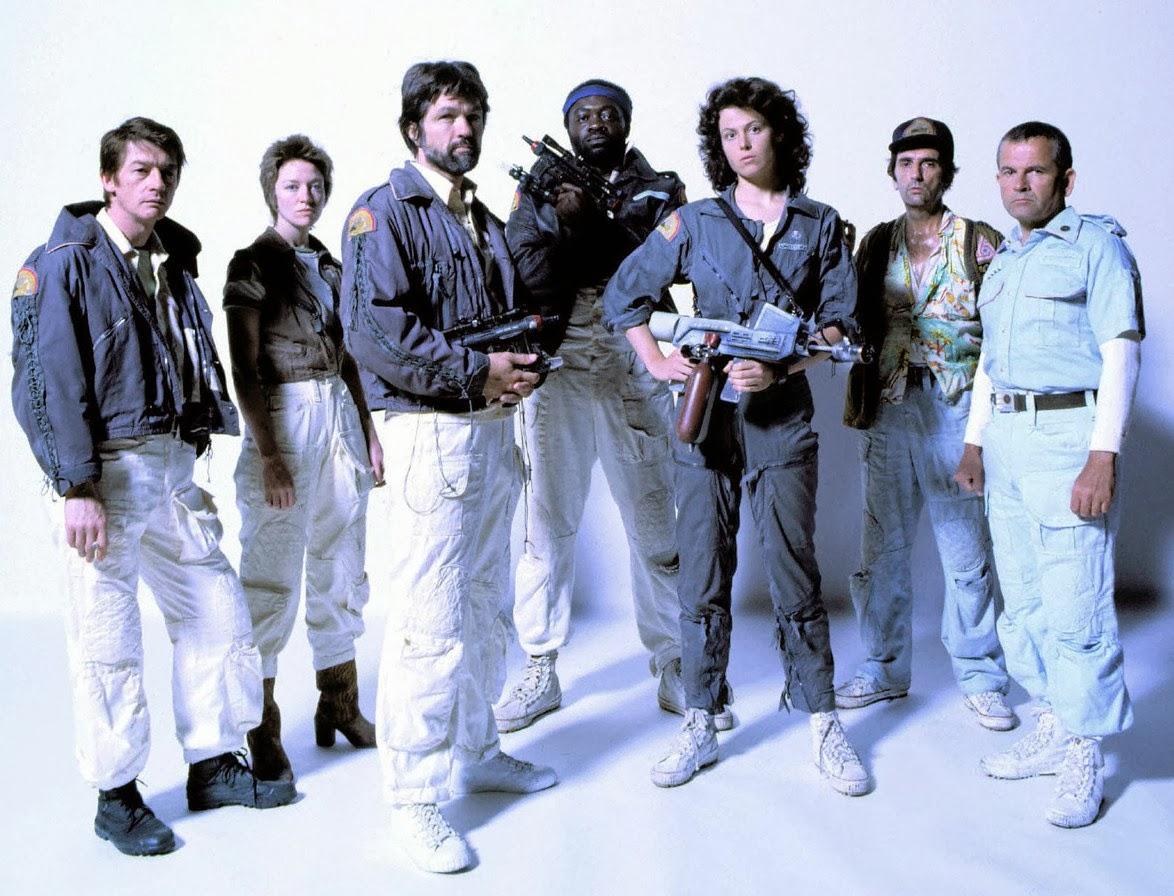 nostromo-crew Análise: Alien - 40 anos que ninguém escuta você gritar no espaço!