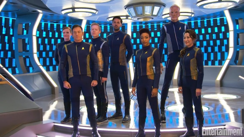 new-crew-of-star-trek-discovery Star Trek - Uma Jornada além das Estrelas – Parte 10